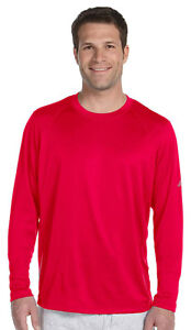 New Balance Men's Athletic Fit Tempo Long Sleeve Performance T-Shirt. N9119