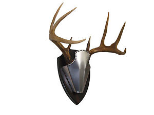 Steelcap Deer Antler Mounting Kit quot; Finished Plaquequot;