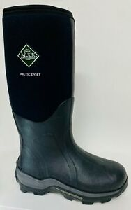 NEW Muck Arctic Sport Black Extreme Ice Fish Hunting Boots sz 78910111213