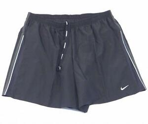 Nike Dri Fit Gray Running Shorts with Brief Liner Mens NWT
