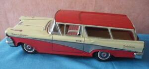 asahi atc tin toy japan ford fairlane 1959