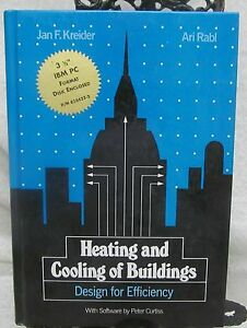 Heating and Cooling of Buildings by Kreider & Rabi