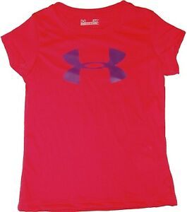 GIRLS UNDER ARMOUR TEE SHIRT SPORTS ATHLETIC KIDS ACTIVE CHILDREN CLOTHES youth $13.30