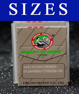 ORGAN SEWING NEEDLE 29X3 332 DIX3 FIT SINGER 29K 29U 29 4 16K 3741 $5.10