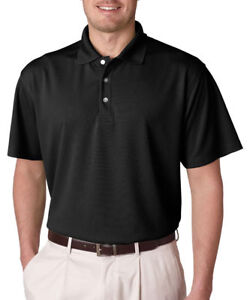 UltraClub Men's Cool Dry Fit Moisture Wicking Polyester Polo Shirt12-Pack. 8445