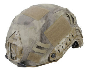 Emerson Airsoft Tactical Outdoor Helmet Cover for Ops-Core Fast Helmet A-TACS