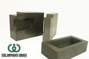GRAPHITE INGOT MOLDS 2 KG OF CAPACITY (PURE GOLD)