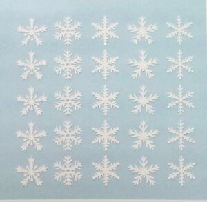 Snowflakes Christmas Holiday Variety Fingernail Art Decal Stickers Nail Vinyls
