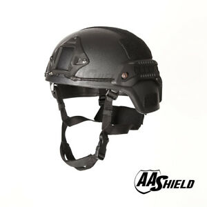 AA Shield Bullet Proof Tactical Ballistic Helmet Aramid Light Weight Lvl IIIA 3A
