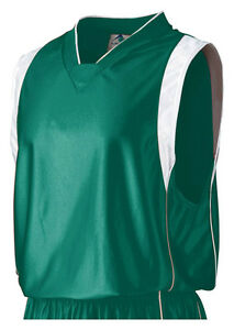 Augusta Sportswear Men's V Neck Sleeveless Dazzle Game Jersey T-Shirt. 785