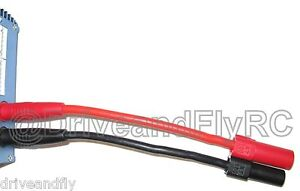 XT150 4mm Banana Plug Bullet Lipo Charge Cable Lead Connector Harness High Amp