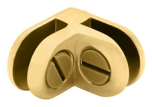 Brass Two-Way 90 Degree Display Connector