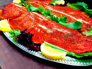 SYD#x27;S Smoked Salmon 3 pounds the best salmon you will ever try