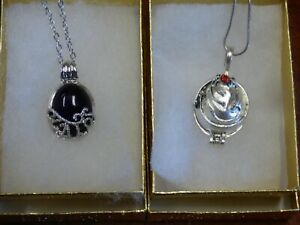 Vampire Diaries Elena's Vervain Antique Locket & Katherine Anti-sunlight pendant