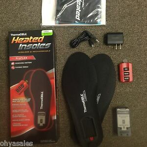 ThermaCell ProFlex Heated Insoles Large LG Size (M 7.5-9) (W 8.5-10) - HW20-L