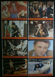 ALL THE MARBLES Peter Falk female wrestling 1981 Yugoslavian LOBBY CARDS SET