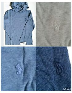 Polo Ralph Lauren Boys Hoodie Cotton Hoodie Matching Pony $19.98
