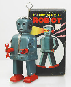 original rare red handed zoomer robot and