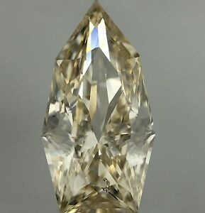 Natural Loose Diamond Bullet cut 2.93ct SI K Color Untreated EARTH MINED