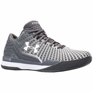 New 11 Mens Under Armour Clutchfit Drive Low Basketball Shoes Gray White Clutch