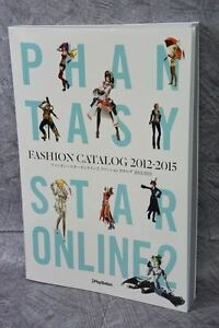 PHANTASY STAR ONLINE 2 Fashion Catalog 2012-2015 Illustration Art Book KD99*
