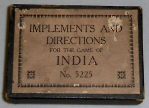 game of india mcloughlin brothers no 5225