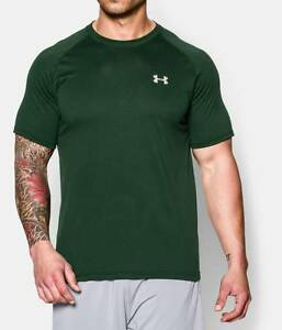 Under Armour Men's UA Tech Short Sleeve T-Shirt FORREST GREEN 1228539 301 SM-XL