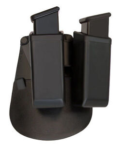 CZ 75 D CZ75 SP01 P-07 P-09 Open Double Magazine Swiveling Holder-FobusPaddle