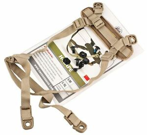 AIRSOFT ACH MICH REPLACEMENT HELMET RETENTION STRAP SET KIT TAN SAND DE