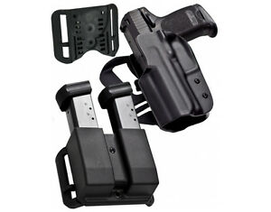 Blade Tech Holster IDPA Compettion Pack For Glock 192332 Right Hand Black