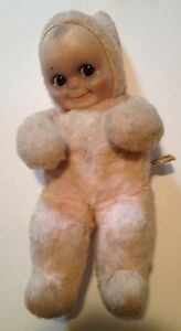 toy co kewpie cameo baby doll rose o neill pink