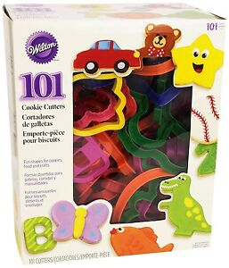 Cookie Set Cutter Biscuit Baking Wilton Pastry PlayDoh Mold NEW FREE SHIPPING