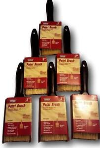 Set of 6 3 Professional Paint Brush Synthetic 3 Inch