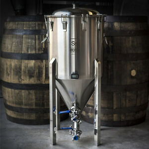 Ss Brewtech Half Barrel Chronical / Stainless Steel Conical Fermenter (1/2 BBL)