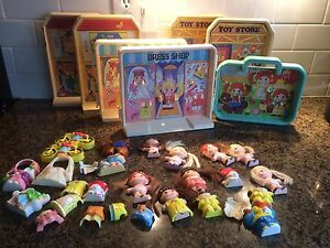1979 lot dolly pops dolls clothing outfits