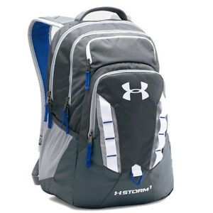 Under Armour Storm Recruit Backpack - Steel Grey