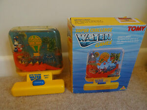 vintage tomy water game knights quest