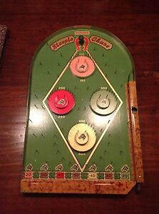 lindstrom s steeple chase pin ball game