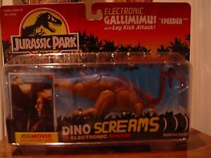kenner jurassic park electronic gallimimus