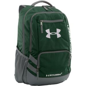 Under Armour Backpacks - Team Hustle - Forest GreenGraph