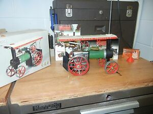 mamod steam tractor with box
