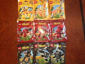 lego mixels series 1 complete set of all 9