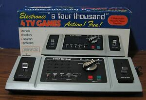 k mart s four thousand pong video game
