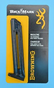 Browning BuckMark Magazine 10 Round RD 22 LR Factory Clip Mag Camper Contour URX $31.95