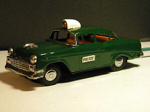 vintage 1956 chevrolet police car by of
