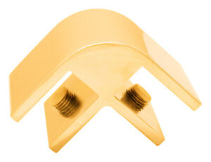 CRL Gold Anodized Two-Way 90 Degree Standard Connector for 12