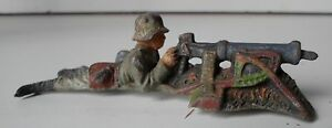 elastolin lineol soldier wehrmacht with