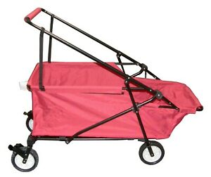 Folding Wagon Collapsible Beach Utility Cart Outdoor Wagon Garden Buggy Wagon