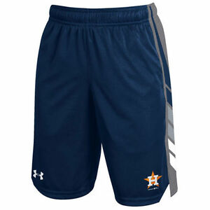 Under Armour Houston Astros Youth Navy Select Shorts