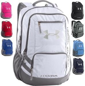 Under Armour Team Hustle Backpack Backpack Book Bag W 15
